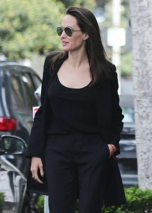 Angelina Jolie - Out and about in Beverly Hills