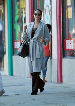 Angelina Jolie out in in Los Feliz