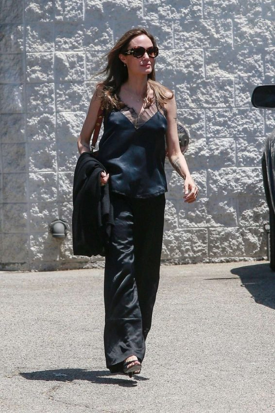 Angelina Jolie 2019 : Angelina Jolie – Out in Los Angeles-05