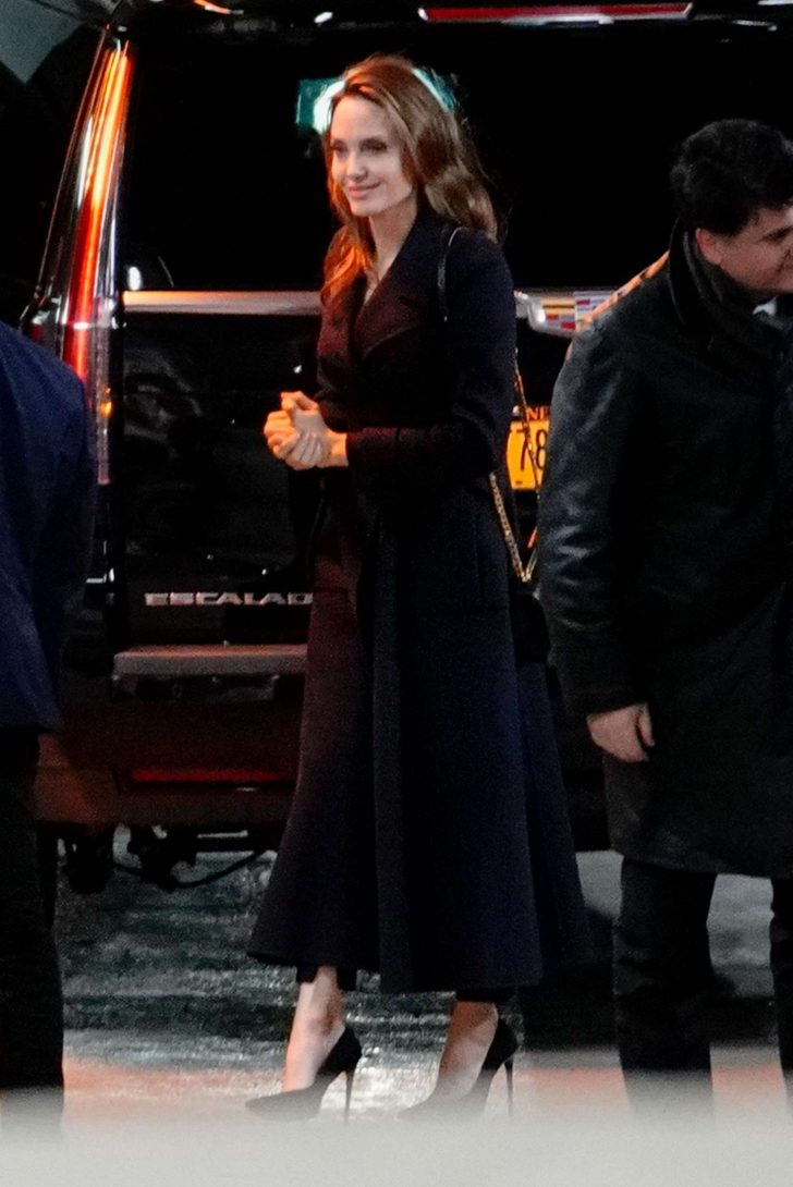 Angelina Jolie - Out in New York