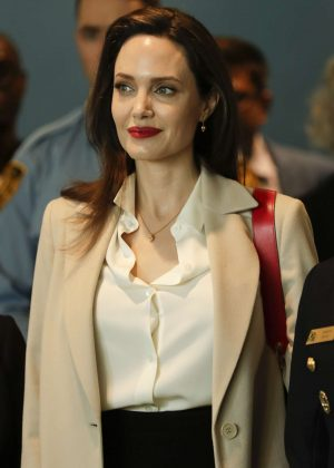 Angelina Jolie - Sexual Violence in Conflict Speech in New York