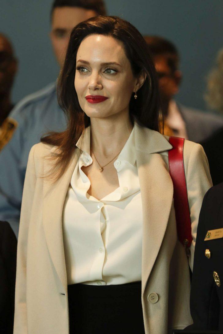 Angelina Jolie - Sexual Violence in Conflict Speech in New York