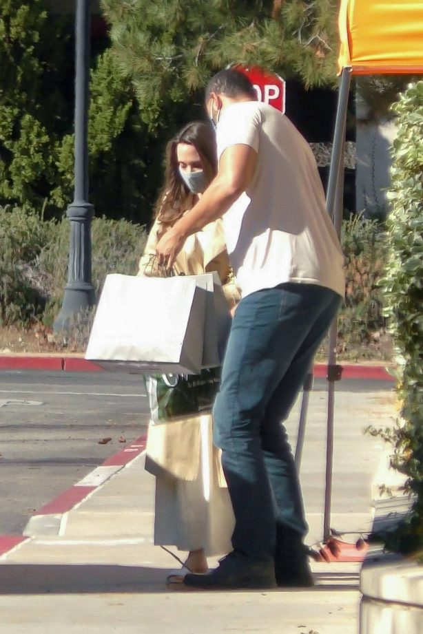 Angelina Jolie - Shopping candids in Los Angeles