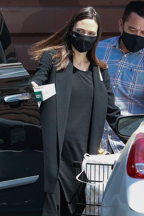 Angelina Jolie - Shopping candids in Los Feliz