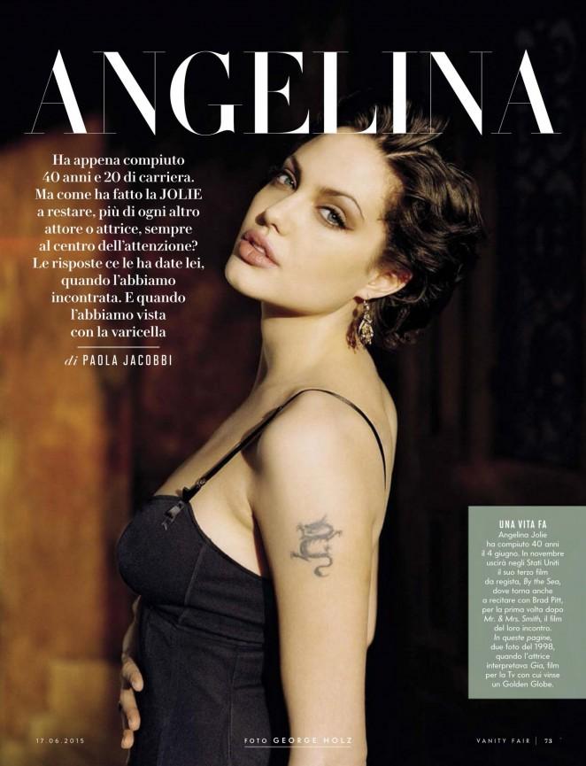 Angelina Jolie: Vanity Fair Italy 2015 -02