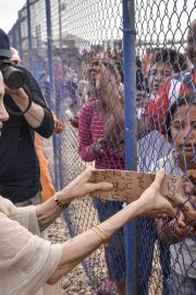 Angelina Jolie - Visits Refugee Camp in Maicao