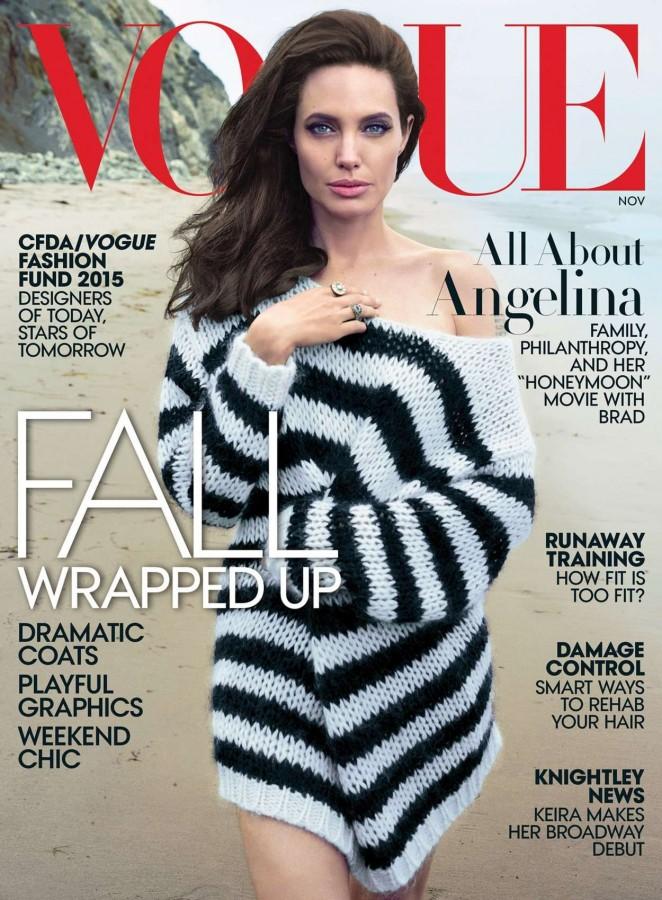 Angelina Jolie - Vogue US Magazine (November 2015)