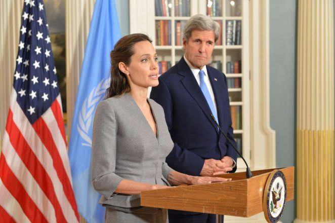 Angelina Jolie - World Refugees Day at the US Department of State in Washington DC