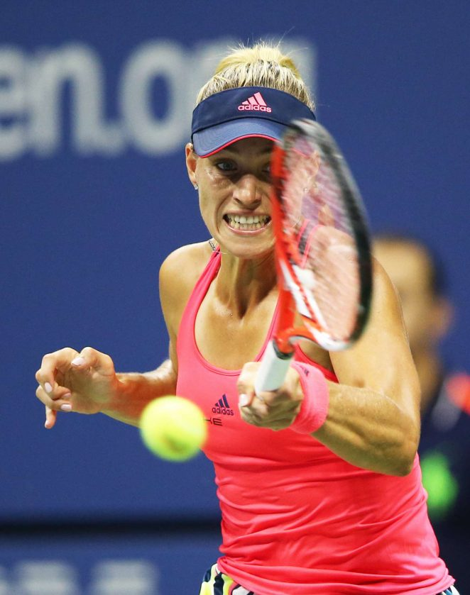 Angelique Kerber - 2016 US Open 4th Round in New York City