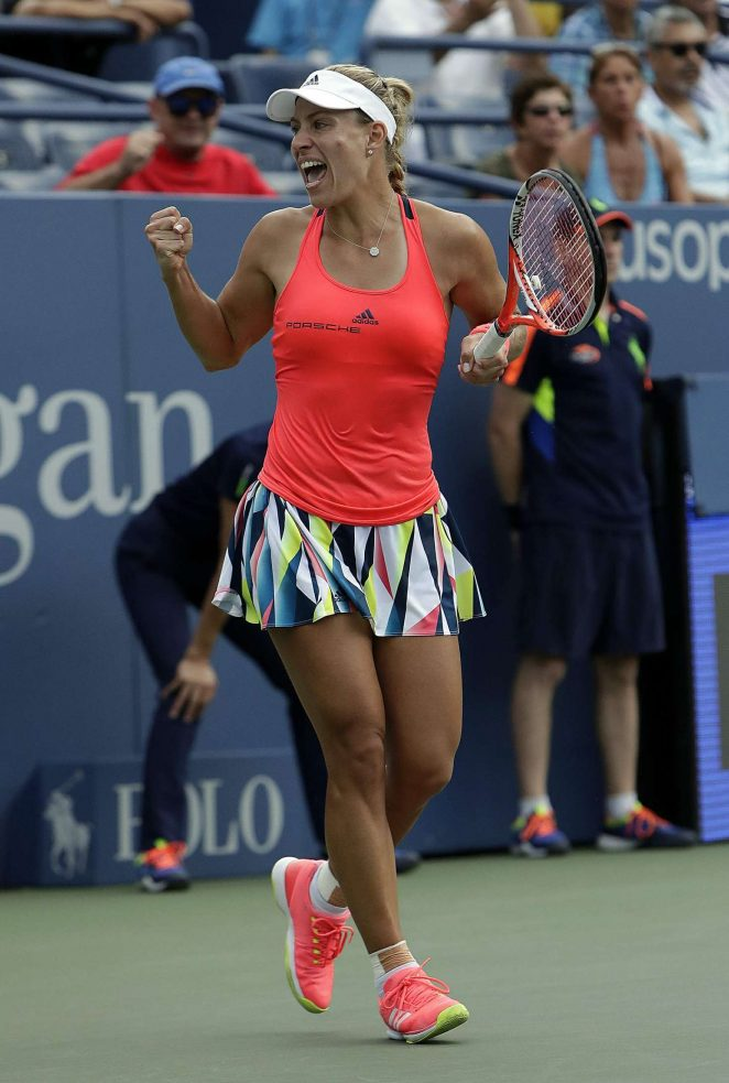 Angelique Kerber - 2016 US Open in NYC