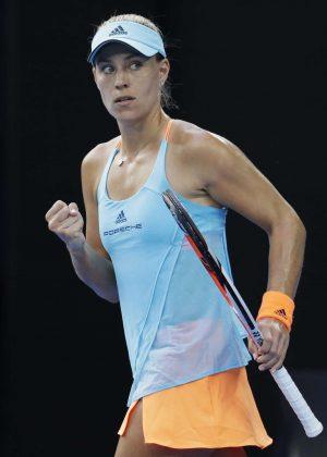 Angelique Kerber - 2017 Australian Open Championships in Melbourne