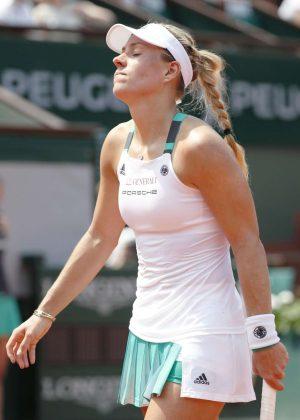 Angelique Kerber - 2017 French Open Tennis Tournament in Paris