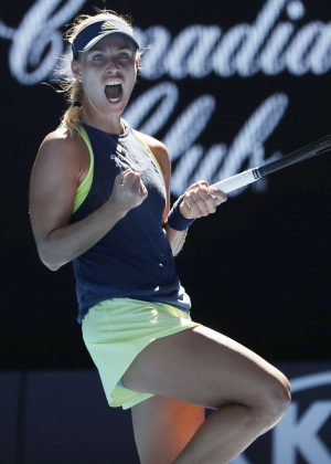 Angelique Kerber - 2018 Australian Open in Melbourne - Day 4