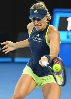 Angelique Kerber - 2018 Australian Open in Melbourne - Day 6