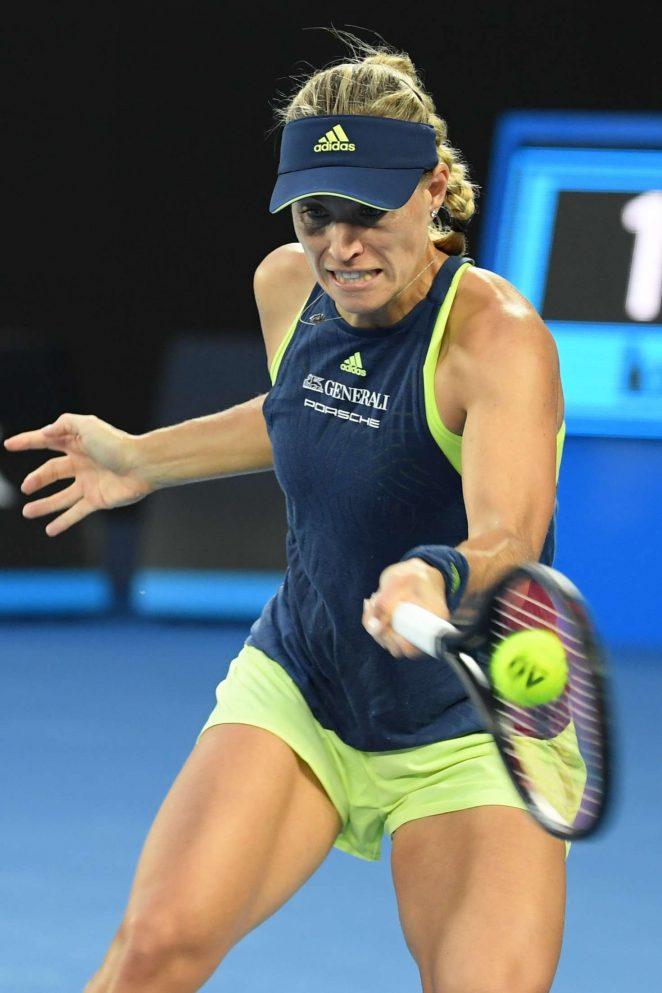 Angelique Kerber - 2018 Australian Open in Melbourne - Day 6