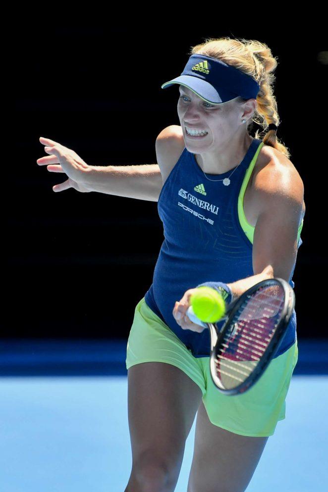 Angelique Kerber - 2018 Australian Open in Melbourne - Day 8