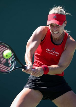 Angelique Kerber - 2018 Miami Open in Key Biscayne