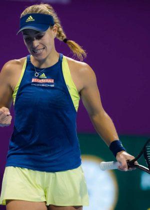 Angelique Kerber -  2018 Qatar WTA Total Open in Doha