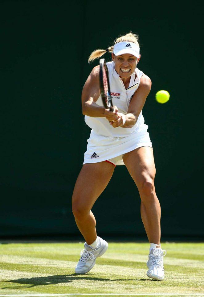 Angelique Kerber - 2018 Wimbledon Tennis Championships in London Day 2