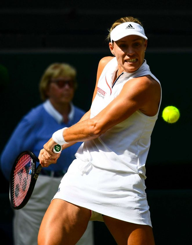Angelique Kerber - 2018 Wimbledon Tennis Championships in London Day 6