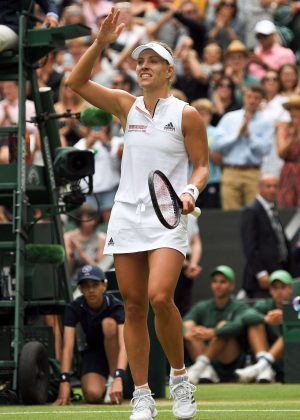Angelique Kerber - 2018 Wimbledon Tennis Championships in London Day 8