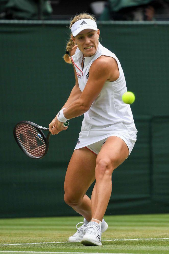 Angelique Kerber - 2018 Wimbledon Tennis Championships in London Day 8