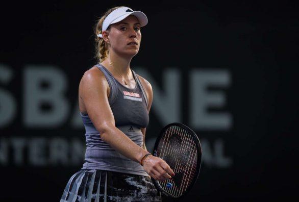 Angelique Kerber - 2020 Brisbane International WTA Premier Tennis Tournament in Brisbane