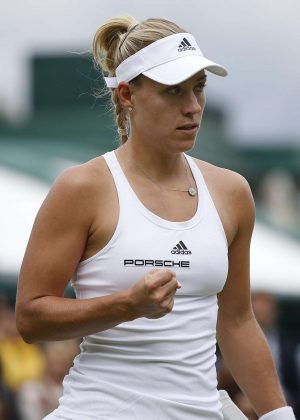 Angelique Kerber  - 2nd Round Match in Wimbledon