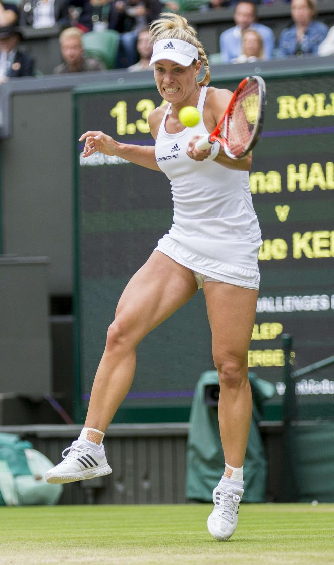 Angelique Kerber - 4th Round Match 2016 in Wimbledon