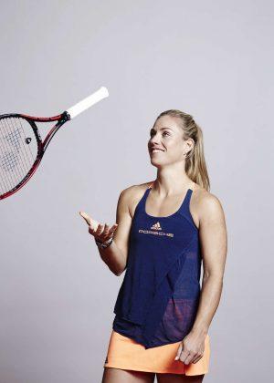 Angelique Kerber - Photoshoot for the Porsche Tennis Magazine 2017