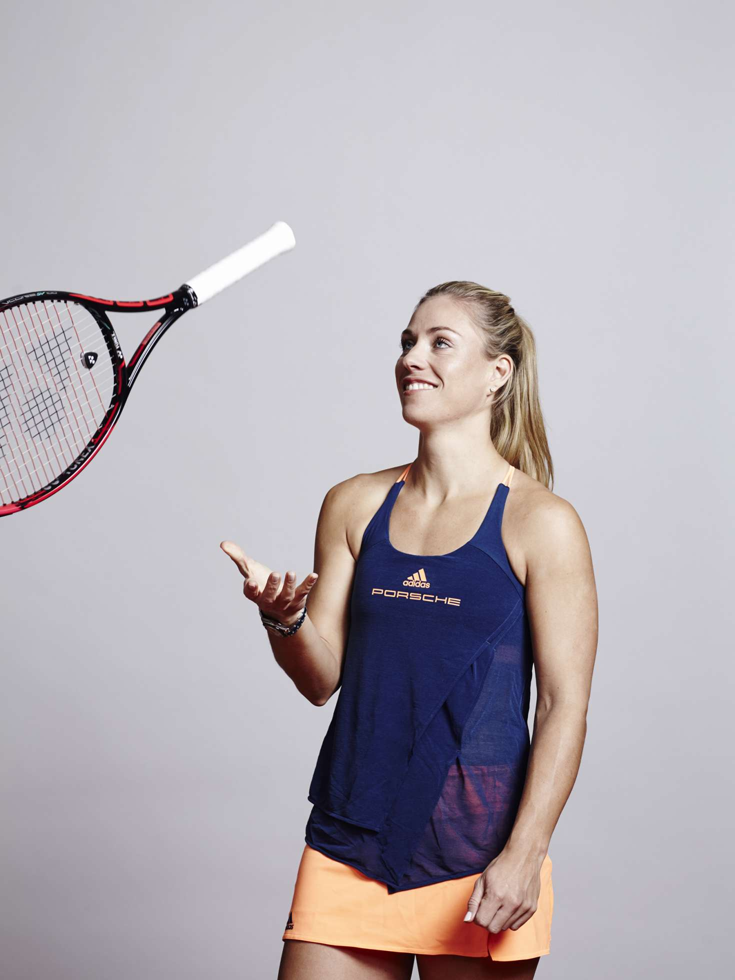 angelique kerber � photoshoot for the porsche tennis