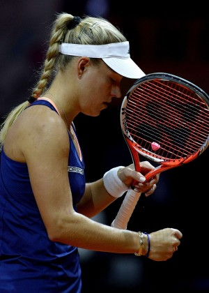 Angelique Kerber - Porsche Tennis Grand Prix in Stuttgart Day3