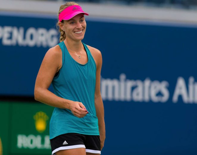 Angelique Kerber - Practice Session at 2018 US Open in New York