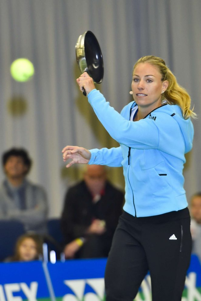 Angelique Kerber - Press Release from Tennis - Point and Batsman Jones in Hamburg