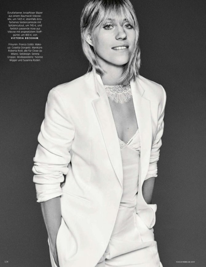 Angelique Kerber – Vogue Deutschland Magazine (February 2019)