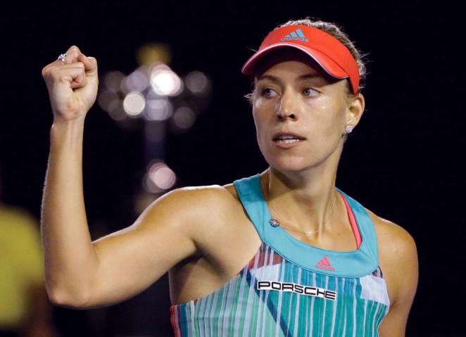 Angelique Kerber 2016 : Angelique Kerber vs Serena Williams: Womens singles final at the Australian Open in Melbourne-03
