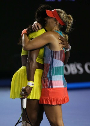 Angelique Kerber vs Serena Williams: Womens singles final at the Australian Open in Melbourne-04
