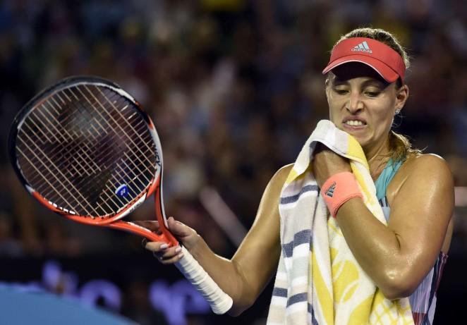 Angelique Kerber 2016 : Angelique Kerber vs Serena Williams: Womens singles final at the Australian Open in Melbourne-06