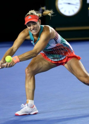 Angelique Kerber vs Serena Williams: Womens singles final at the Australian Open in Melbourne-08