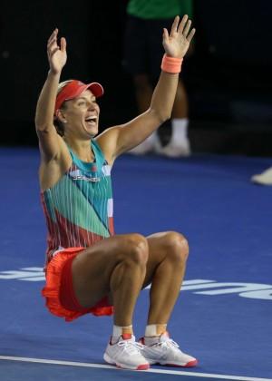 Angelique Kerber vs Serena Williams: Womens singles final at the Australian Open in Melbourne-10