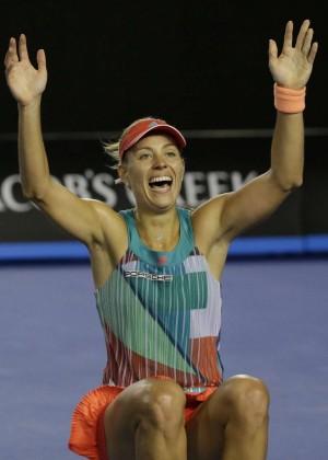 Angelique Kerber vs Serena Williams: Womens singles final at the Australian Open in Melbourne-12