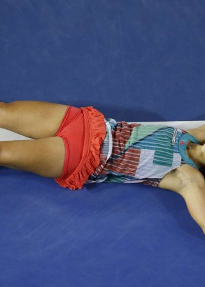 Angelique Kerber vs Serena Williams: Womens singles final at the Australian Open in Melbourne-16