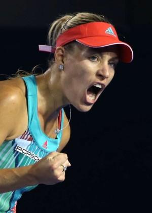 Angelique Kerber vs Serena Williams: Womens singles final at the Australian Open in Melbourne-19