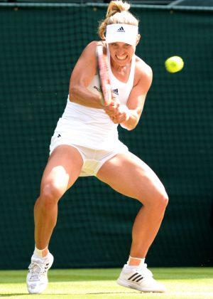 Angelique Kerber - Wimbledon 2016 Semifinal in London