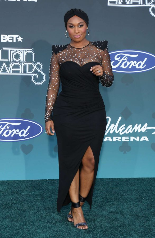 Angell Conwell - 2019 Soul Train Awards in Las Vegas