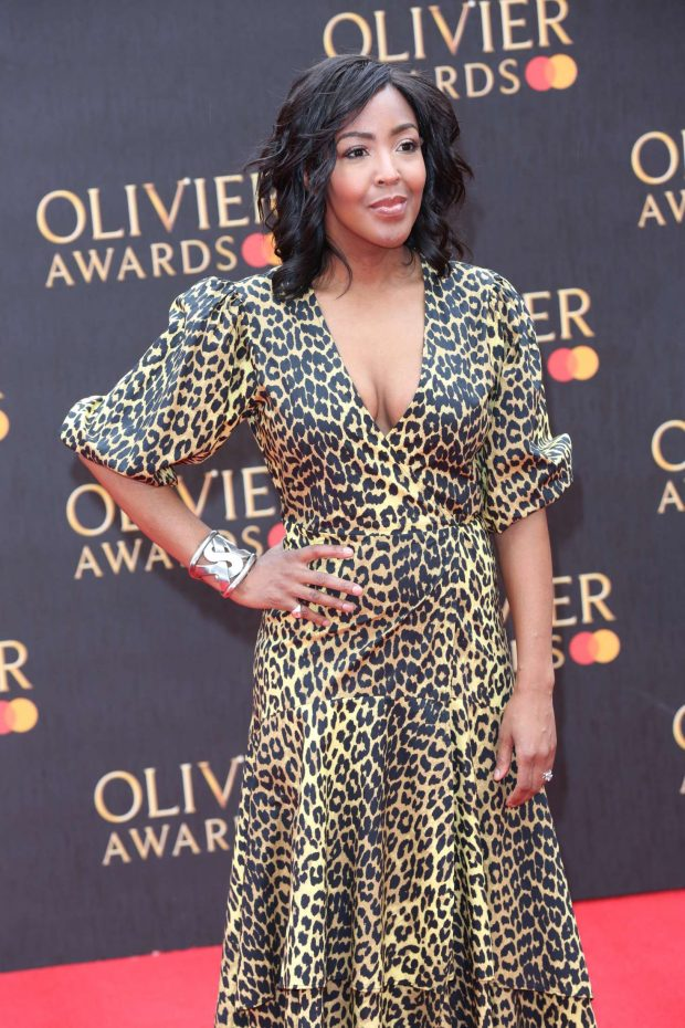 Angellica Bell - 2019 Laurence Olivier Awards in London