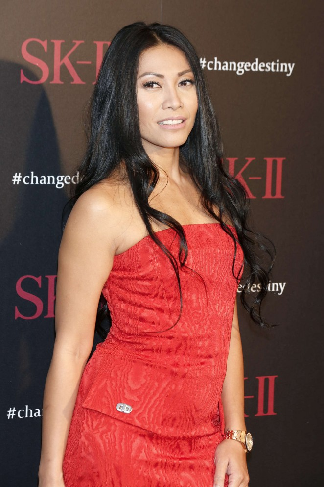 Anggun - SK-II ChangeDestiny Forum-Photocall in Los Angeles