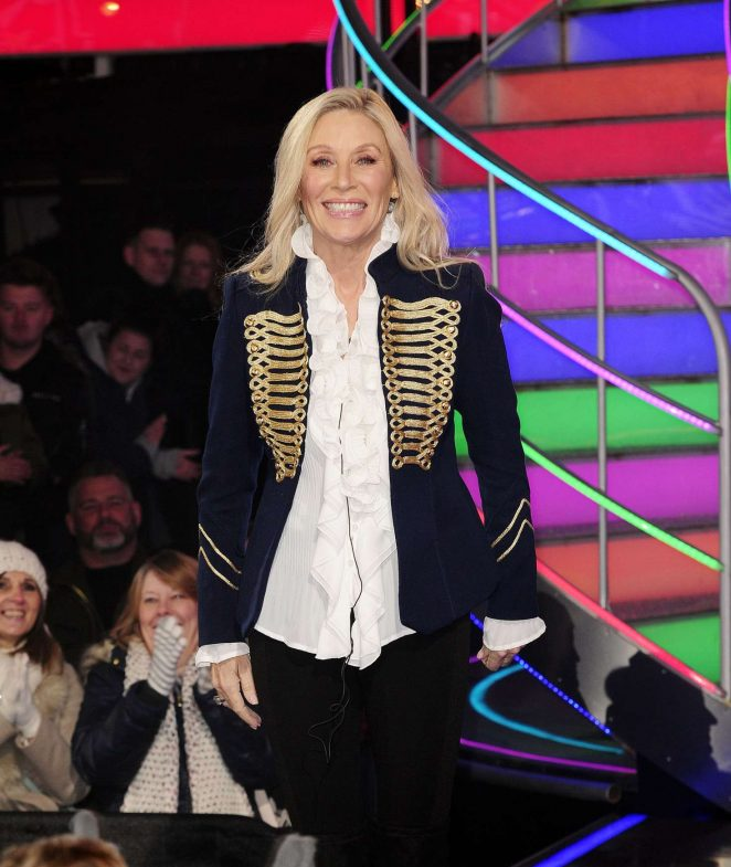 Angie Best - 'Celebrity Big Brother' TV Show in Hertfordshire