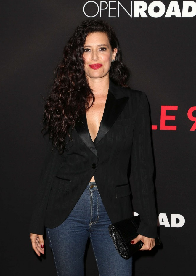 Angie Cepeda - 'Triple 9' Premiere in Los Angeles