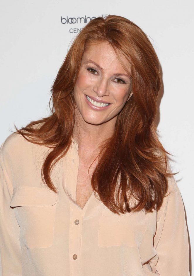 Angie Everhart - Women's Guild Cedars-Sinai Annual Spring Luncheon in LA